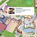 Map - Steakhouse Disney Village