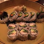 Vegetable and California rolls, both really good