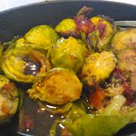 baked sprouts and bacon. best item on the menu.