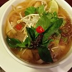 Flavoursome vietnamese beef pho.