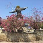 Photo of Carlos El Pibe Valderrama Statue