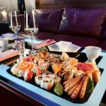 Sushi Set in b-hush Lounge Bar