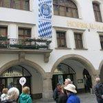 Hofbrauhaus front facade