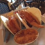 Gringo Fish Tacos with a side of Pineapple Casserole - delicious!