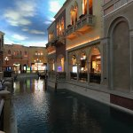Indoor Mall with Canal
