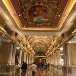 Venetian Hotel Corridor