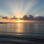 Sunrise over the Caribbean