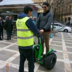 With Bilal... our Segway guide!