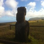 Tukuturi kneeling moai with beard