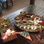 The Platter we had delivered to our Villa. Magnificent.
