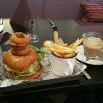 My 315 sek burger!