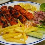 Flavourful chicken kebab