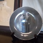 The lovely plate photo of Dr. Sun Yat Sen & his wife displayed in the first room