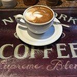 Small latte.