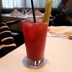 Pre-dinner Bloody Mary