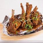 Chaap Tawa Masala - Lamb Ribs in Thick Indian Sauce ccoked to perfection.