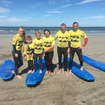 Surfing can be done by all ages making it the ultimate family experience.