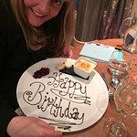 chetyls birthday chef wrote her happy birthday