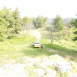 Kostas found the way up this tiny road to the Menelaon, a hilltop Mycenean site near Sparta.