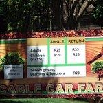 Cable car fares