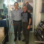 Picture of me with Tony of Tony Nong - Ann Tours (Ho Chi Minh City Office)