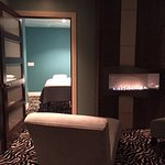 Relaxation room and couples massage suite