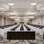 Newly renovated ballroom can accommodate up to 500.