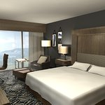 King Guest Room, Angled View