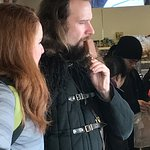 Our guide was an Extra from Game of Thrones and a fan of ice cream in the winter.