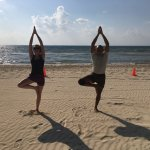 Sun, sand, great food, beautiful hotel and awesome yoga