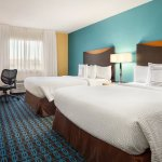 Double Queen Guest Room at Fairfield Inn & Suites Minneapolis Bloomington/Mall of America