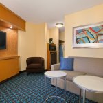 Executive King Suite at Fairfield Inn & Suites Minneapolis Bloomington/Mall of America
