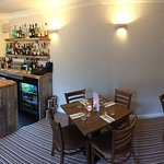 Our bar and dining area