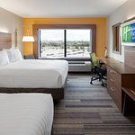 Traveling with family or a friend, try a double queen room!