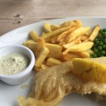 Cod and chips.