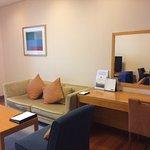 Living room (Exec 1-bedroom apartment).