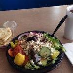 The Mad Greek Cafe - Large Greek salad