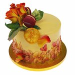 Love & Passion Fruit cake