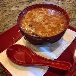Hot & sour soup.