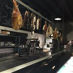 View of the butcher section