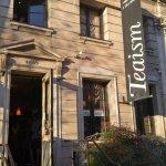 Entrance to Teaism at Dupont Circle.