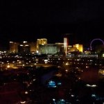 View of the Strip from my room.