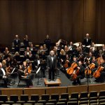 Group Shot of the Parker Symphony Before A Concert at PACE Center in Parker, CO