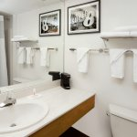 Standard Bathroom Interior Entrance Rooms
