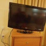 TV broken pedestal
