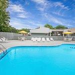 Outdoor Heated Pool Open Seasonally