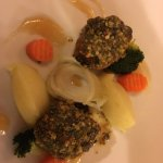 Filetto mignon larderellato con verdure