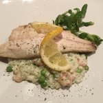 Sea Bass on Risotto Rice