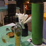 Wine and bamboo wine cooler