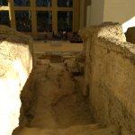 Restos arqueológicos.
